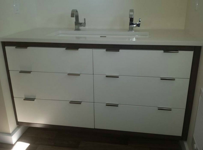 Custom Bathroom Vanities Brampton aura custom design | quality cabinet design and installation in